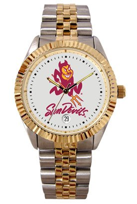 Arizona State University Sun Devils Mens Executive Stainless Steel Watch