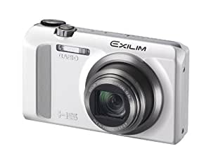 CASIO EXILIM Digital Camera EX-ZR500WE / 16.1 Megapixel / 18x Optical Zoom / 7.6 cm (3 Inch) Display EX-ZR500 blanc