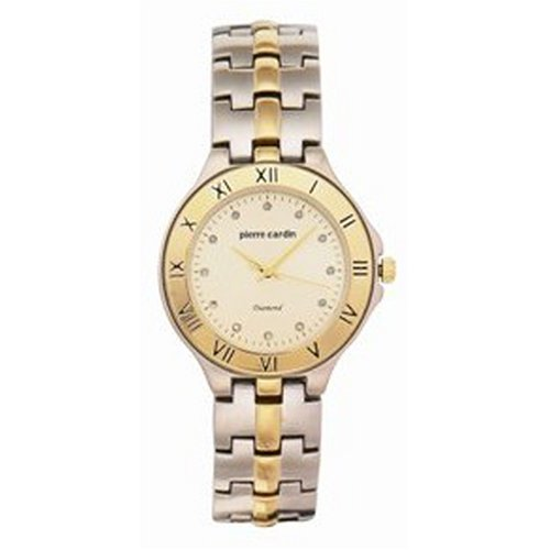 PCD2031TC Diamond Collection Two-Tone Diamond Accented Watch: PCardin