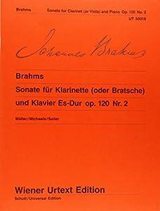 Clarinet Sonata Op 120 No 2 Eb Major Op (Wiener Urtext) by Wiener Urtext