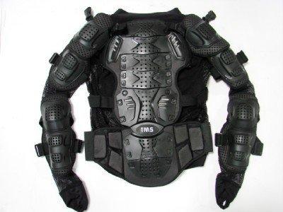 Motorcycle Full Body Armor Protector Pro Street Motocross ATV Jacket Shirt (Medium)