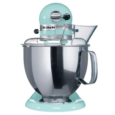 artisan stand mixer in ice blue 5ksm150bic cheap food mixers uk