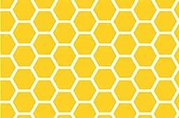 SheetWorld Crib Sheet Set - Lemon Honeycomb - Made In USA