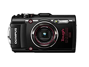 Olympus TG-4 16 MP Waterproof Digital Camera with 3-Inch LCD (Black) (Certified Refurbished)