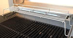 Weber 62749 Raised Warming Rack for Genesis 300 Series Grills Made in 2007 and Newer