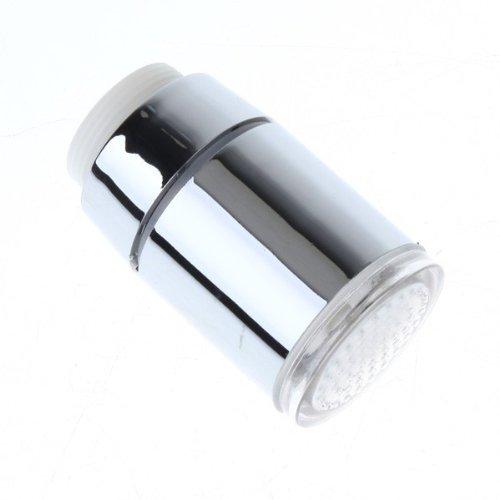 Glow Temperature Sensor Led Water Stream Faucet Tap 3