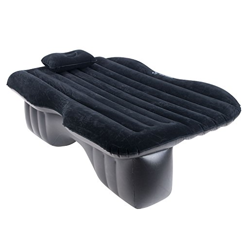 Camping Mattress: Car Air Mattress Backseat Inflatable Camping Travel Cargo