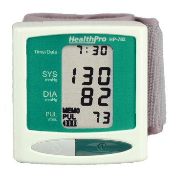 Health Pro Blood Pressure Monitor Wrist Watch Style – HP-782 (HP-782)