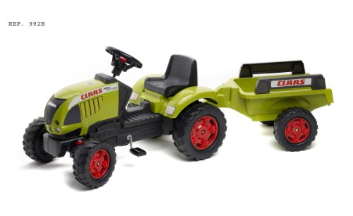 Falk Claas Celtis and Trailer Sit and Ride (2-5 years)