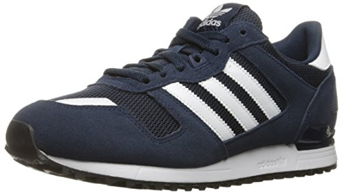 Adidas Originals Men's ZX 700 Fashion Sneaker, Collegiate Navy/White/Black, 10.5 M US