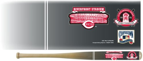 Cincinnati Reds 1975 Riverfront Stadium Cooperstown Wood Min