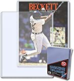 BCW 9 X 11.5 X 5 mm - Beckett Magazine Topload Holder (10 Holders/Pack) Baseball, Football, Basketball, Hockey, Golf, Single Sports Cards Top Load - Sportcards Card Collecting Supplies