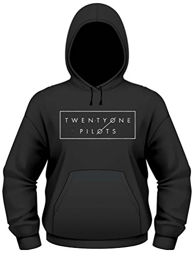 Plastic Head Twenty One Pilots Thin Line Box HSW-Felpa Uomo    nero XX-Large