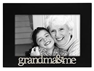 Malden Grandma and Me Expressions Frame, 4 by 6-Inch
