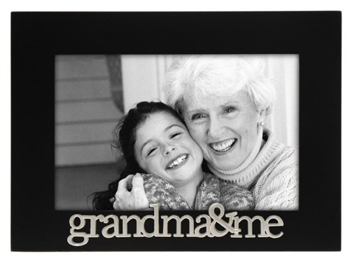 Malden 4303-46 4x6-Inch Grandma and Me Expressions Frame