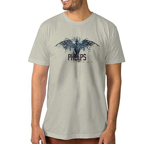 nckg mens michael phelps short sleeve t shirti color