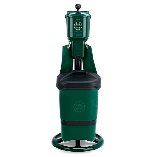 Putting Green Golf Ball Washer Deluxe Ensemble With Single Trash Mate Par Aide Blue Ray O Youngeri