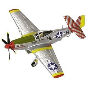 P-51D Mustang 1/72 Die Cast Model