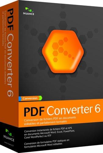 Pdf Converter - (Version 6 ) - Ensemble Complet - 1 Utilisateur - Cd - Win - Français