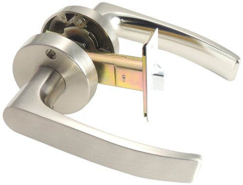 ベスト レバーハンドル空錠 サテンニッケル バックセット60ミリ 扉厚30~40ミリ 2-476