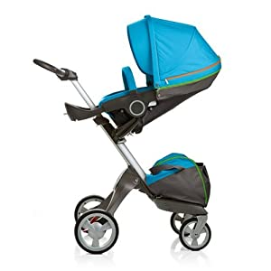 Stokke Xplory Stroller - Urban Blue with Carrycot