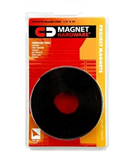 """Adhesive Magnet Tape 1/2""""X10' Roll"""
