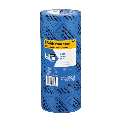 Scotchblue Painter'S Tape, Multi-Use, 1.88-Inch By 60-Yard, 6-Roll front-1007801