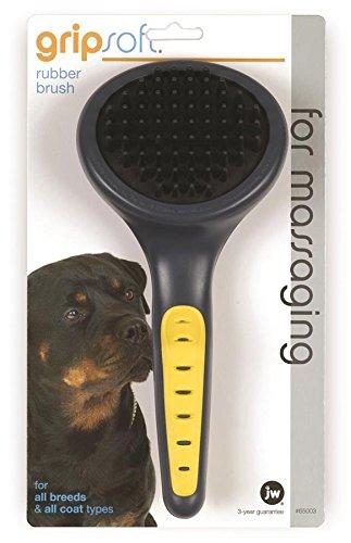 Artikelbild: JW Gripsoft Rubber Grooming Brush for Dogs