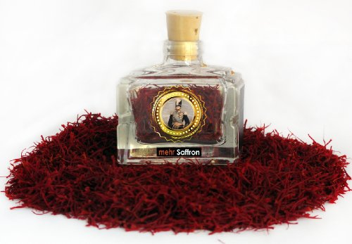 Pure Persian Saffron / 1-Gram Corked Jar (Pack
