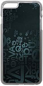 Enlinea Printed 2D Designer Hard Back Case For Apple iPhone 6 Plus (5.5-Inch) -20364