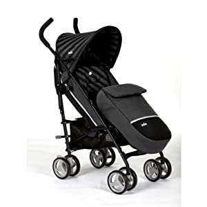 Swell Joie Nitro + Umbrella Stroller With Footmuff - Black ...