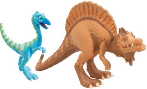 Dinosaur Train Old Spinosaurus and Oren X-Ray 2 Pack