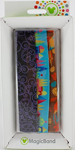 Disney Fastpass Magicband Coverbands Haunted Mansion, Small World, Tiki Room - 1