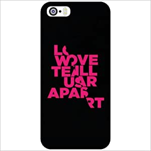 Printland Back Cover For Apple iPhone 5S - We All Love Phone Cover (Printed Designer)