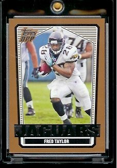 2007 Topps Draft Picks & Prospects #19 Fred Taylor Jacksonville Jaguars Football Card