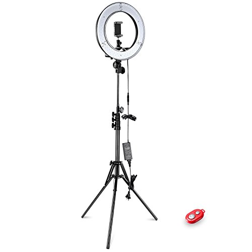 Neewer-1436cm-Outer-36W-5500K-LED-Ring-Light-Kit-LED-Ring-Light-Light-Stand-Soft-Tube-Color-Filter-Hot-Shoe-Adapter-Bluetooth-Receiver-for-Smartphone-Portrait-Video-Shooting