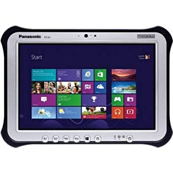Panasonic Toughpad FZ-G1AABAXLM 10.1 Stone PC Intel Core I5-3437U 1.90 GHz 4GB DDR3 128GB SSD Intel HD Graphics 4000 Windows 7 Educated