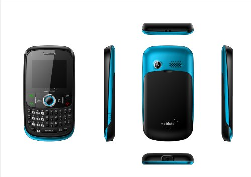 Mobistel EL400 blau (5,1 cm (2 Zoll) Display) Handy ohne Branding