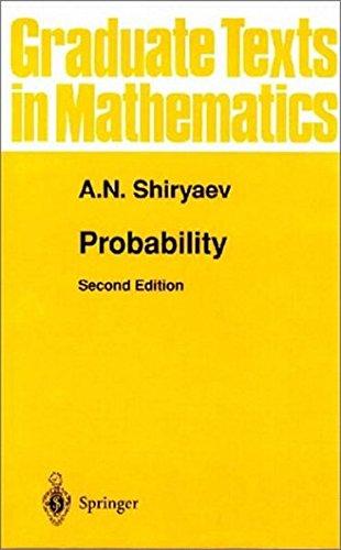Probability: v. 95 (Graduate Texts in Mathematics)
