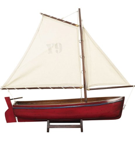 Red Madeira Y9 Yacht Model