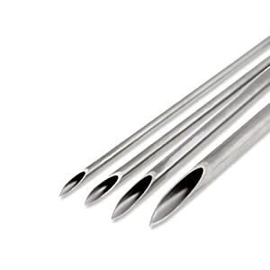 Piercing Needles Sterilized 16 Gauge 1.2mm (Nostrils, Ears, Eyebrow) - 10 Pieces