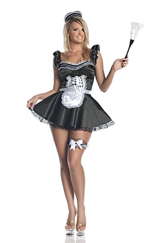 Mystery House Plus Size Upstairs Maid Costume