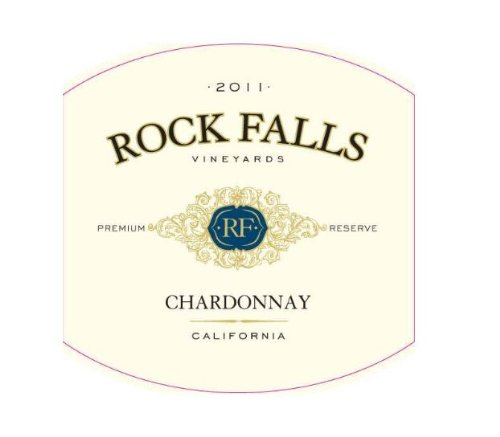2011 Rock Falls Premium Reserve Chardonnay, California 750 Ml
