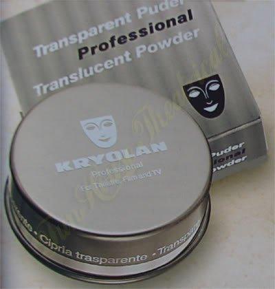 Kryolan Translucent Powder 60 gm Setting Makeup 5700 - TL1