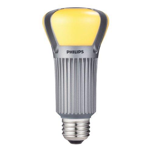 Philips 422220 17-Watt (75-Watt) A19 LED Light Bulb, Dimmable
