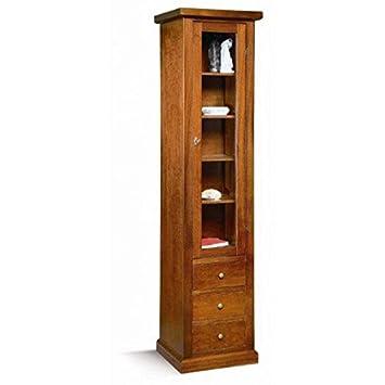 Mobili.-Column Wood Arte povera Col noce- codluis 242-242F