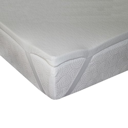 Sleep master 15 inch sleeper sofa memory foam mattress for Memory foam topper for sofa bed