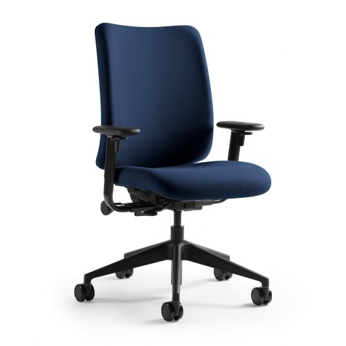 Steelcase Crew Fabric Chair, Navy