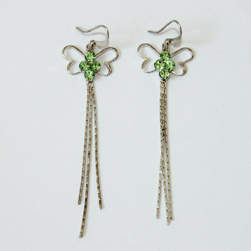 Custom Fashion Jewelry Earrings Green