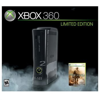 Xbox 360 Limited Edition Console 250gb w/ COD Mw 2